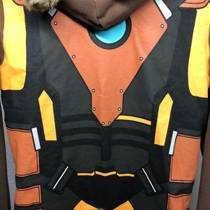 Mighty Fine Tops - GUARDIANS OF THE GALAXY ROCKET RACCOON HOODIE